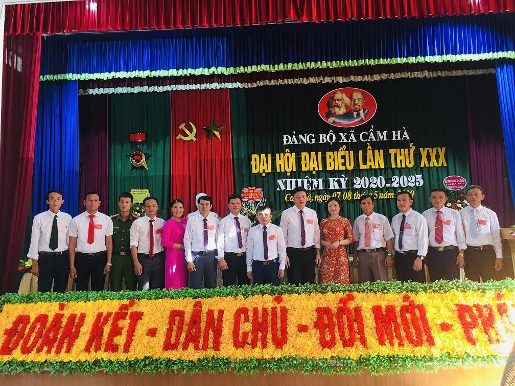 Đảng bộ xã Cẩm Hà đại hội đại biểu lần thứ XXX nhiệm kỳ 2020 – 2025
