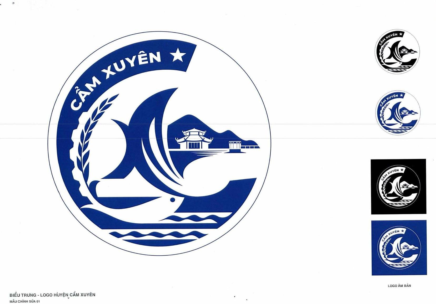 Thông báo các tác phẩm vào vòng chung khảo Cuộc thi sáng tác biểu trưng Logo huyện Cẩm Xuyên