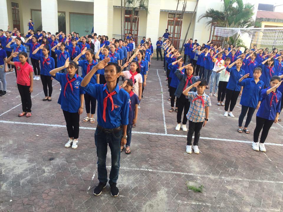 Cẩm Xuyên: Tổ chức tập huấn huấn nghiệp vụ công tác Đoàn – Đội trên địa bàn dân cư hè 2019